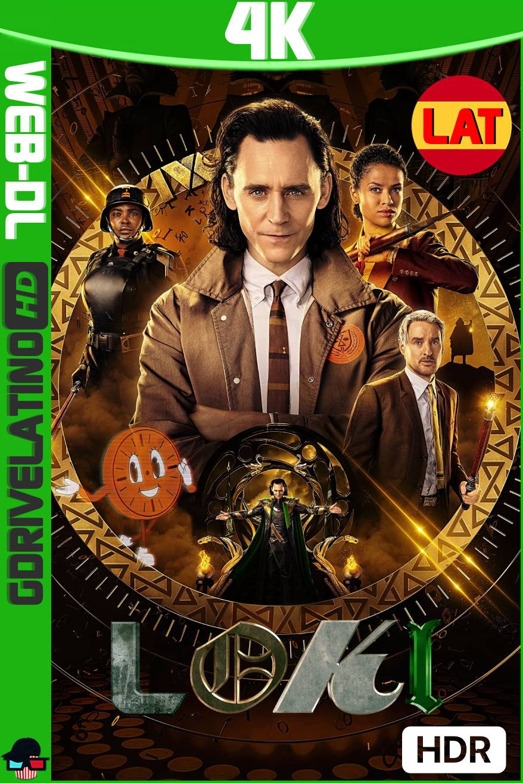 Loki (2021) Temporada 01 WEB-DL 4K HDR Latino-Ingles MKV