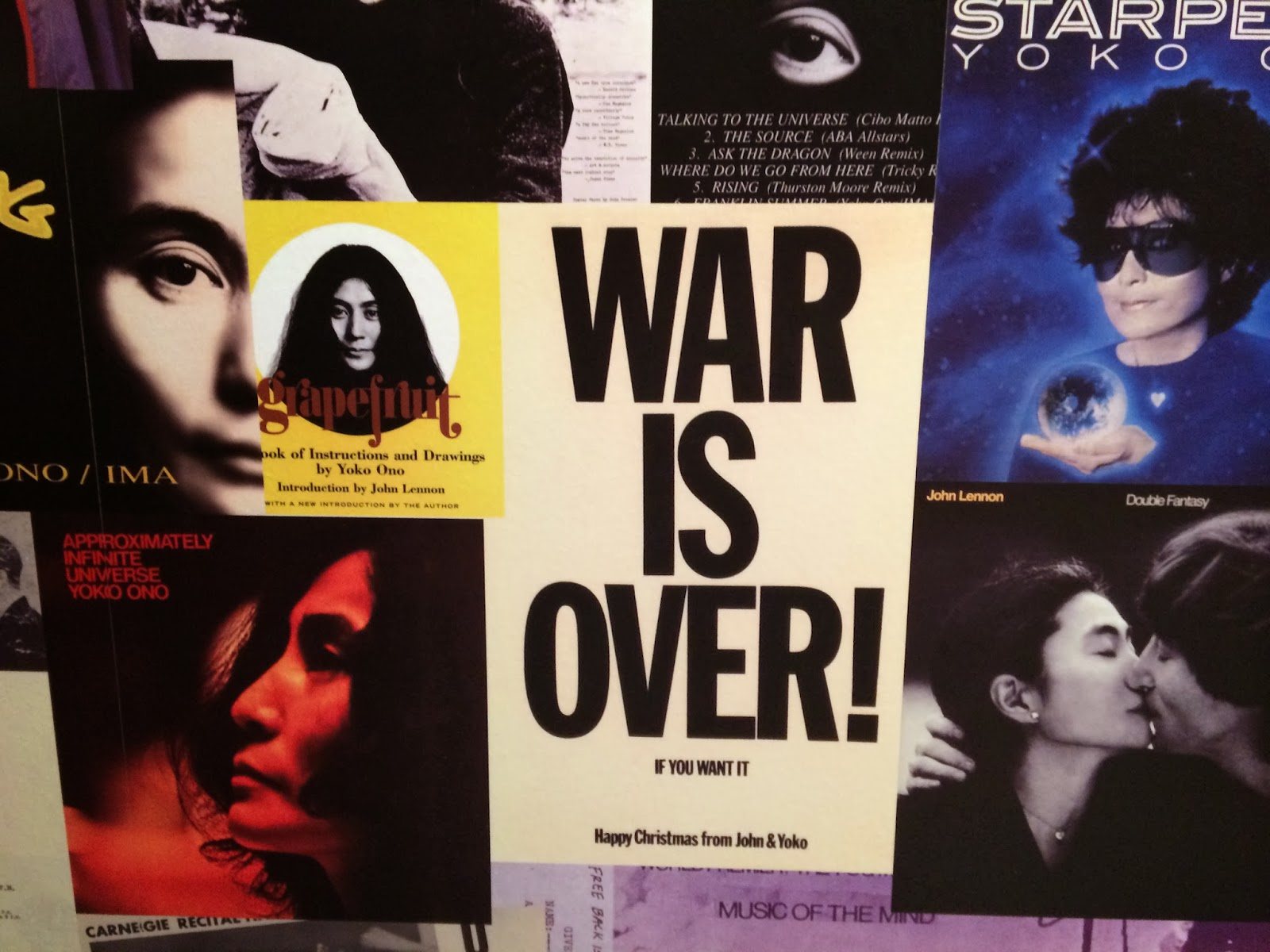 War Is Over If You Want It John Lennon