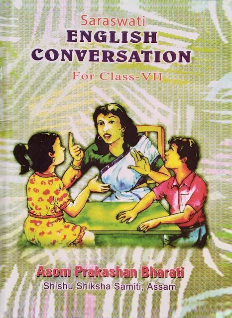 Class 7 English Conversation Sankardev School Book