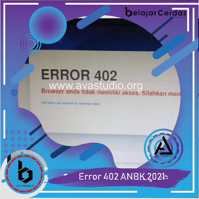 Cara Mengatasi Error 402 pada Exambro Client - ANBK 2021