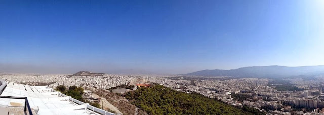 Mount Lycabettus Athens Greece 2