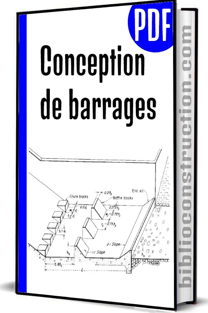 Conception de barrages pdf