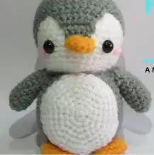 Amigurumi Pingüino a Crochet