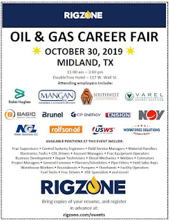 Tons of Oilfield Job Openings at Midland Career Fair.