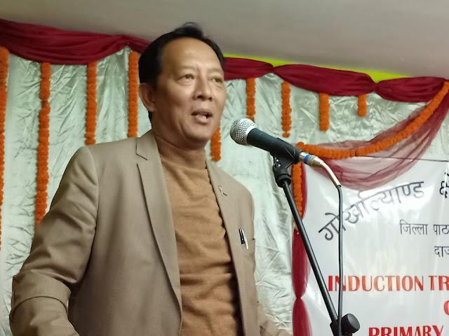Binoy Tamang,President Gorkha Janmukti Morcha