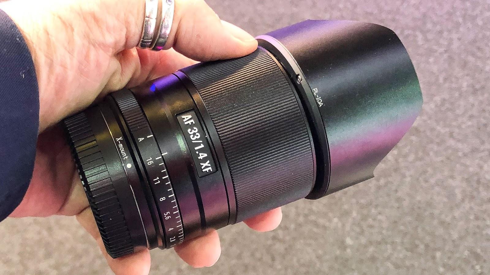Viltrox AF 33mm f/1.4 XF