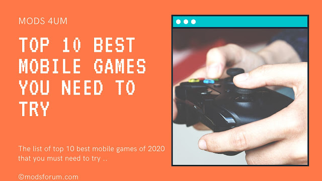 10 Best mobile games you need to try in 2020 | Best mobile games 2020 | Best android games