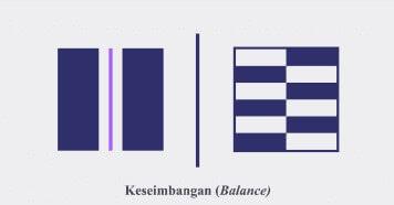 Prinsip Desain Grafis Keseimbangan (Balance)