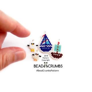 Brick Stitch beading patterns by Bead Crumbs