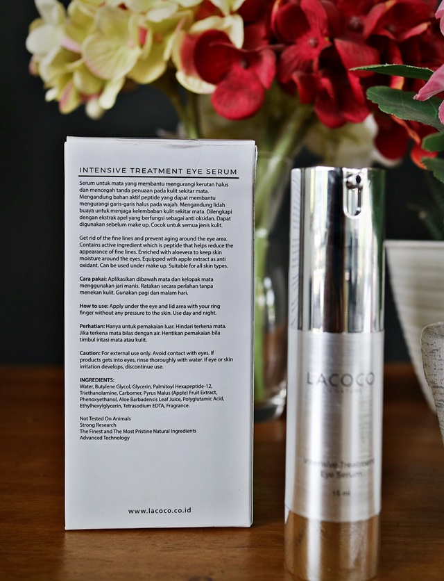 Ingredient Lacoco Eye Serum