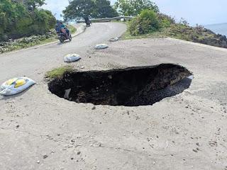 50 Persen Jalan  dan Tiga Jembatan Provinsi di Kabupaten Bima Rusak Parah, Butuh Perhatian Pemprov