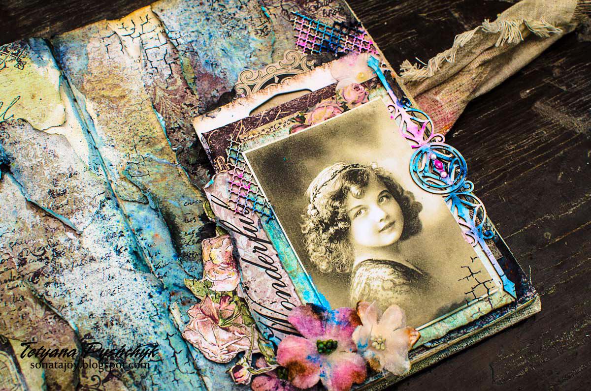 Art Journal Calendar Tutorial : Scraps of darkness and elegance tanya s