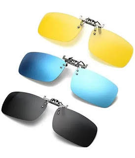 Clip-on sunglasses