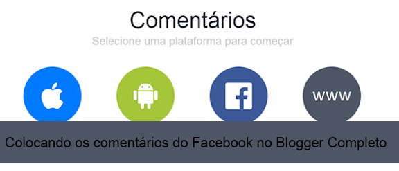 Colocando os comentários do Facebook no Blogger Completo