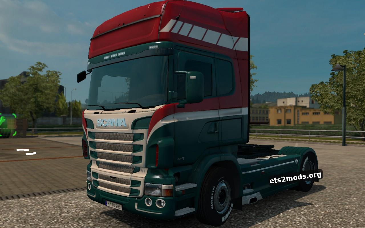 Dutch Style Skin for Scania RJL