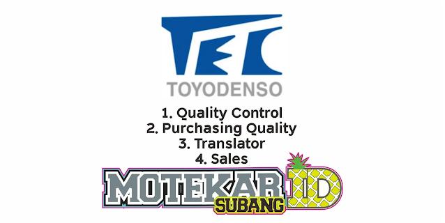 Lowongan Kerja PT Toyo Denso Februari 2021 - Motekar Subang