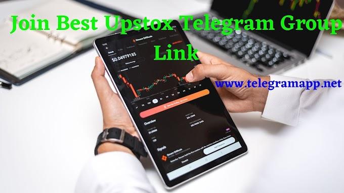 Join Best Upstox Telegram Group Link