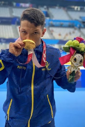 Oro paralímpico para Colombia con  Nelson Crispín y récord mundial