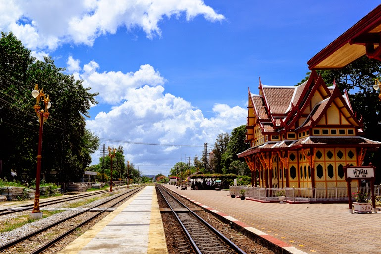 Hua Hin Railway Station Thierry Coulon