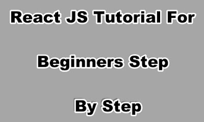 React JS Tutorial For Beginners Step By Step
