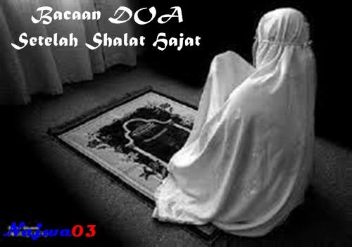 Bacaan Doa Shalat Hajat Arab Latin Lengkap Dengan Artinya