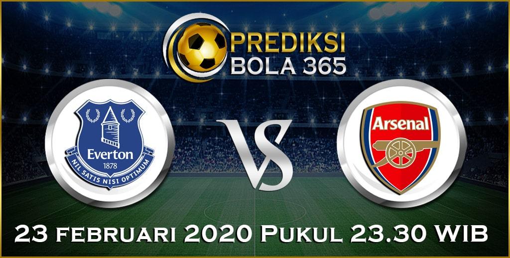 Prediksi Skor Bola Arsenal vs Everton 23 February 2020