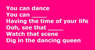 Figure: Let's all join in to honor this great band! Can you fill in the missing lyrics?