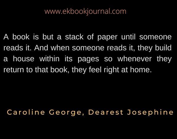 Caroline George | Quote | Dearest Josephine