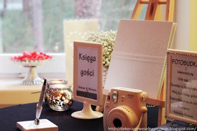 polaroid na weselu