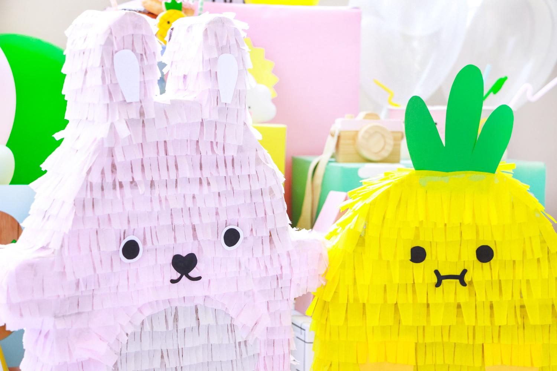 DIY pinatas coloridas faça você mesmo para festa infantil noodoll