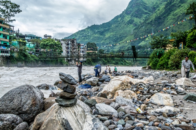 Dharchula, Kali Nadi and Nepalese Dharchula