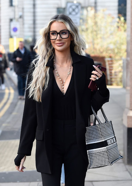 OLIVIA ATTWOOD Out and About in Manchester