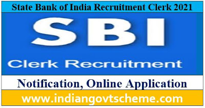 State Bank of India Recruitment Clerk