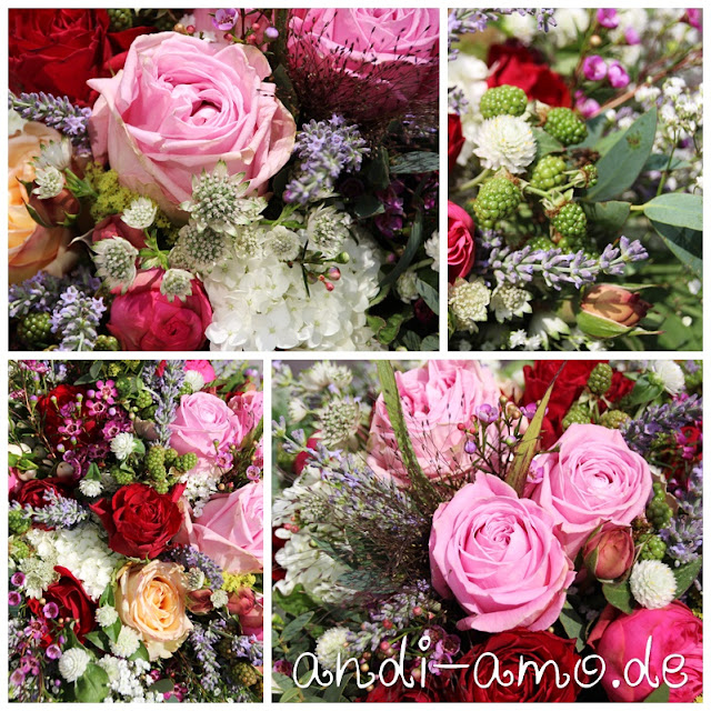 Blumenstrauß Collage