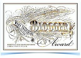 Premio blogger very inspiring
