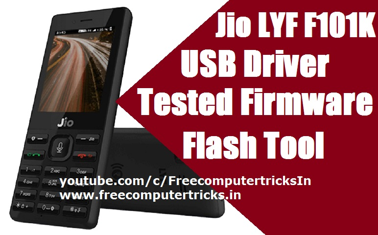 Jio LYF F101K Tested Firmware | USB Driver | Flash Tool