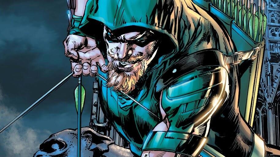 Green Arrow, DC, Comics, 4K, #4.2983