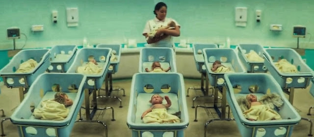 Babies at the hospital mutated into half human and half animal or what is known as a hybrid human. Starting from a baby with the face of a puppy, a baby with the face of a bird with hands that resemble wings, to a human baby with the body of a hedgehog.