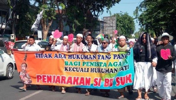 Ulama Madura Ancam Demo Lagi dengan Massa Lebih Banyak Kalau Sukmawati Tak Dihukum