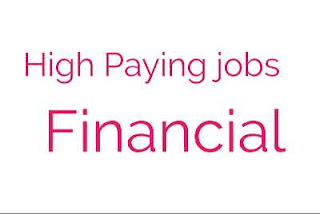 best paying jobs in finance from world-wide