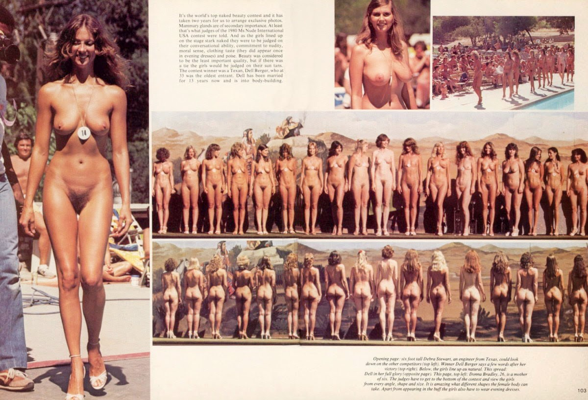 Nudist beauty contest photos day