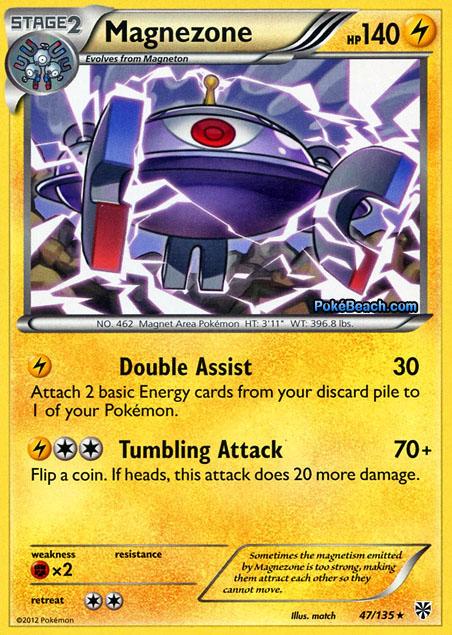 Magnezone #47/135 -- Plasma Storm Pokemon Card Review ...