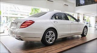 Thiết kế hông xe Mercedes S450 L