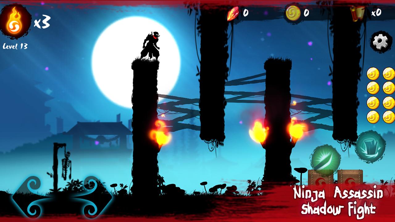 Ninja Assassin Shadow Fight MOD APK Terbaru