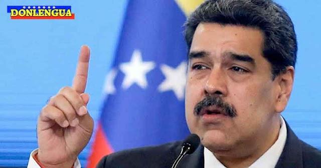 El Narco-Dictador Maduro culpa al imperio de robar el 99% de los ingresos de los venezolanos