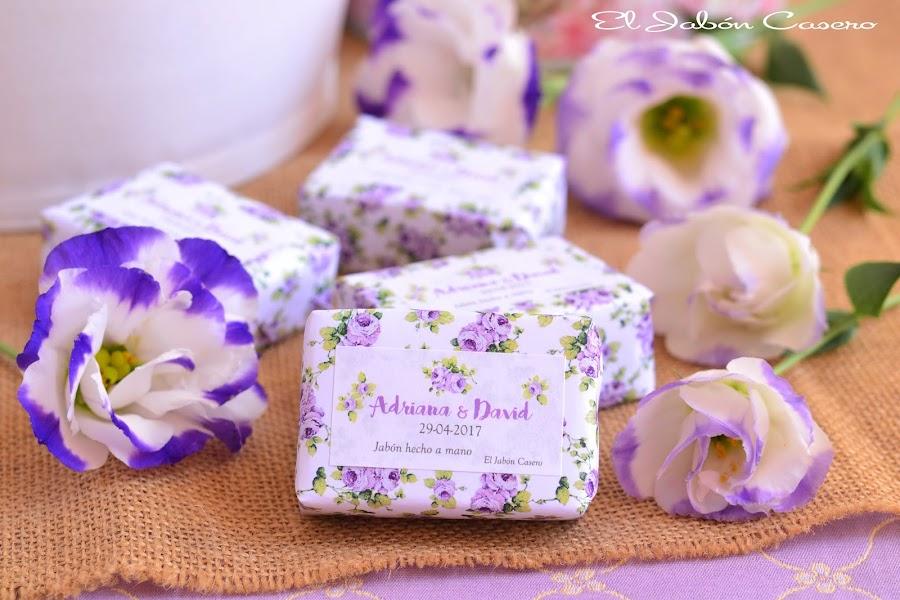 Detalles para bodas pack personalizados de jabones y balsamos