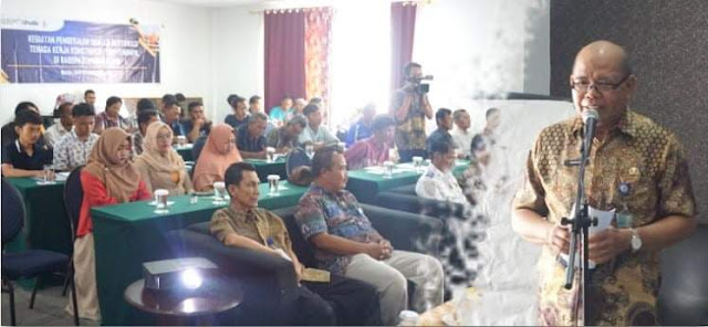 Kementerian PUPR RI Menggelar Pembekalan dan Uji Sertifikasi