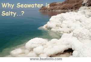 Why Seawater is Salty