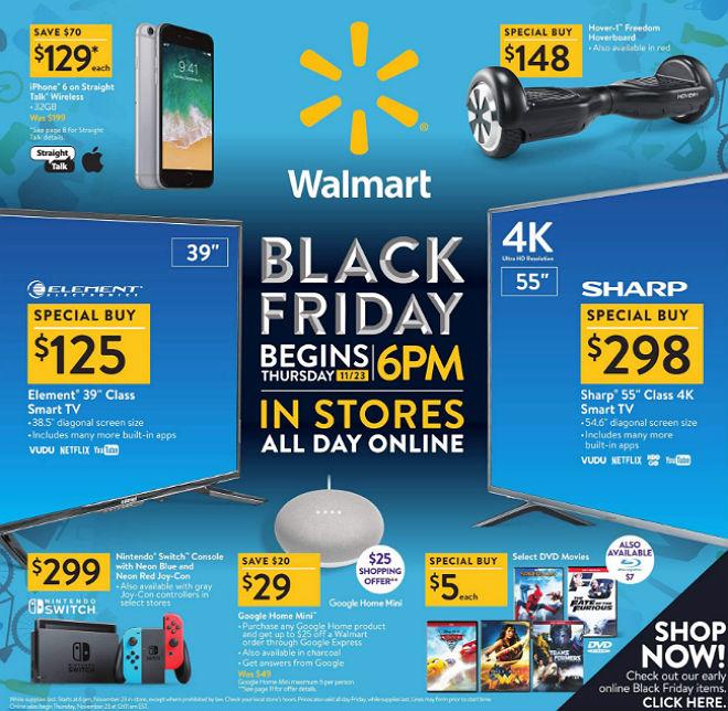 Walmart Black Friday 2017 Ad