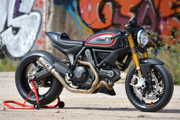 Ducati Scrambler Special của hãng độ WalzWerk Racing